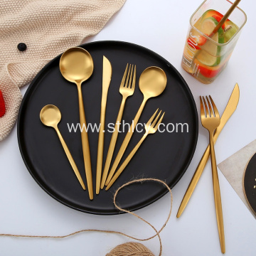 Restaurant Hotel Flatware Stainless Steel Cutlery Set